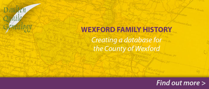 Daulten Quaile Genealogy Wexford Family History